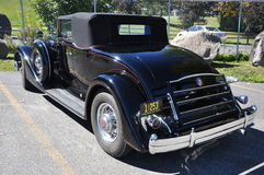 12 1934 antika bilcabrioletpackard Arkivbild