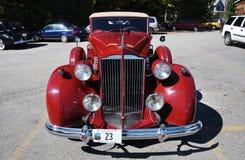 12 1937 antika bilcabrioletpackard Royaltyfria Bilder