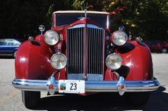 12 1937 antika bilcabrioletpackard Royaltyfria Foton