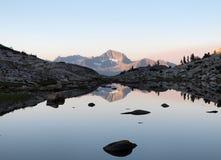 12.195 Fuß Mt Henry Stockfoto