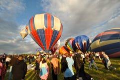 12 2009气球热种族里诺9月 库存照片