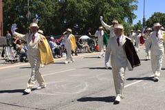 12 2010年节日6月游行波特兰上升了 免版税图库摄影