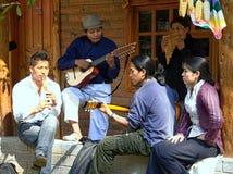 12 2010年chilcapampa厄瓜多尔9月unidenti 免版税库存图片