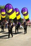 12 2010 парадов portland в июне празднества подняли Стоковые Изображения
