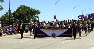 12 2010 парадов portland в июне празднества подняли Стоковое Фото