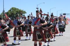 12 2010 парадов portland в июне празднества подняли Стоковые Фото