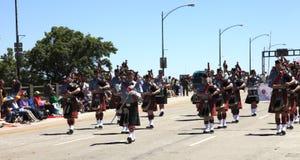 12 2010 парадов portland в июне празднества подняли Стоковое Изображение