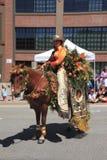 12 2010 парадов portland в июне празднества подняли Стоковые Изображения RF