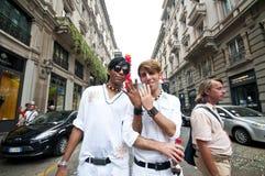 12 2010 glada juni milan stolthet Royaltyfria Foton