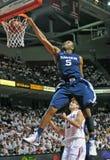 12 2011年活动篮球ncaa 免版税图库摄影