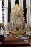 12 amiens大教堂法国 免版税库存图片