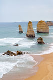 12 apóstoles - gran camino del océano - Australia Imagen de archivo