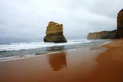 12 apôtres - plage de Gibsons Photos libres de droits