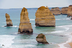 12 apôtres - route grande d'océan - l'Australie Images libres de droits