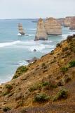 12 Apostel - große Ozean-Straße - Australien Stockbilder