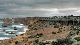 12 apostelen, Grote OceaanWeg, Victoria, Australië Stock Afbeeldingen