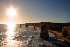 12 apostlar Australien Royaltyfria Bilder
