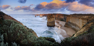 12 apostles 02 pan Stock Images