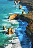 12 apostles. 12 apostels coast in Australia Royalty Free Stock Image