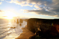The 12 Apostles. Royalty Free Stock Photography