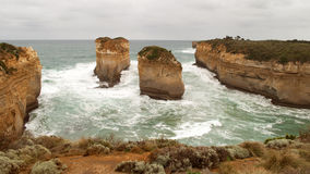 The 12 apostles Royalty Free Stock Image