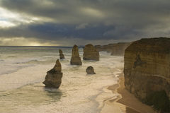 The 12 Apostles Royalty Free Stock Photo