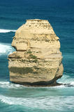 12 Apostles. Image taken of one of the 12 Apostles on the Great Ocean Road in Victoria Australia Stock Photography