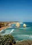12 Apostles. Image taken of the 12 Apostles on the Great Ocean Road in Victoria Austrlaia Royalty Free Stock Photo