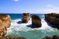 12 APOSTLES, AUSTRALIA. The 12 Apostles on the Great Ocean Road Stock Photography