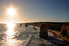12 Apostles Australia royalty free stock images