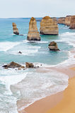 12 Apostles - Great Ocean Road - Australia Royalty Free Stock Photography