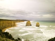 12 APÓSTOLES, AUSTRALIA Imagen de archivo libre de regalías