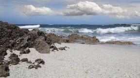 12 arutas海滩 免版税库存照片