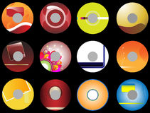 12 business cds Stock Image