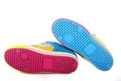 12 butów emo ostrzy odosobneni dwa Obrazy Stock
