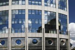 12 byggande industriella moderna Royaltyfria Bilder