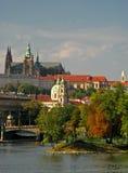 12 château Prague Image libre de droits