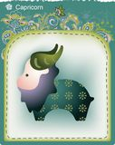 12 constellations. Illustration of 12 constellations's Capricorn Stock Photos