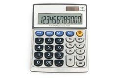 12 cyfr kalkulator Zdjęcie Stock