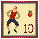 The 12 Days of Christmas Stock Image
