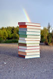 12 different books Royalty Free Stock Photo