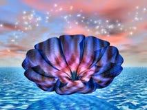 12 drömlika vatten Stock Illustrationer