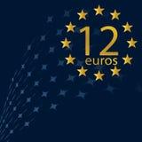 12 Euro Stock Afbeelding
