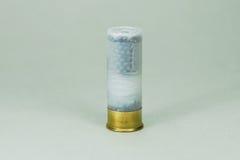 12 gauge. Caliber 12 shotgun hunting ammunition Royalty Free Stock Photography