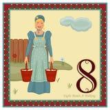 12 giorni di natale royalty illustrazione gratis