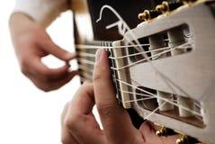 12 gitara Obrazy Royalty Free