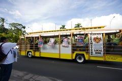 12 hawaii en samlar solidaritet Fotografering för Bildbyråer