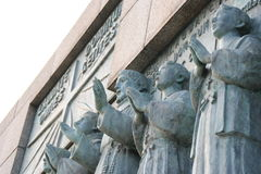 12 heiligen van Nagasaki Stock Fotografie