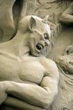 12. Internationales Festival der Sand-Skulpturen Stockbild