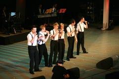 12 irländska tenorer Arkivfoto